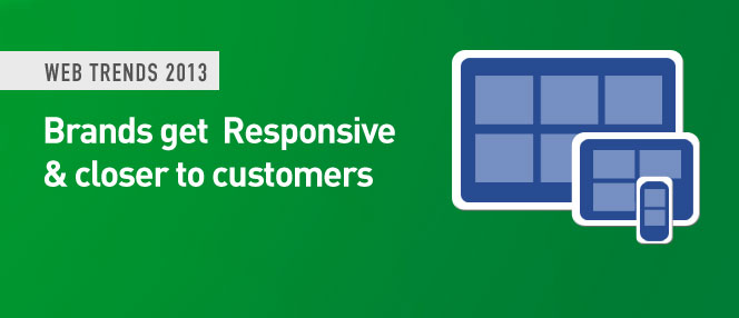 Brands get Responsive this 2013