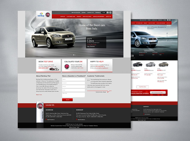 Car Dealer Website Design India | Automotive Web Design & Marketing