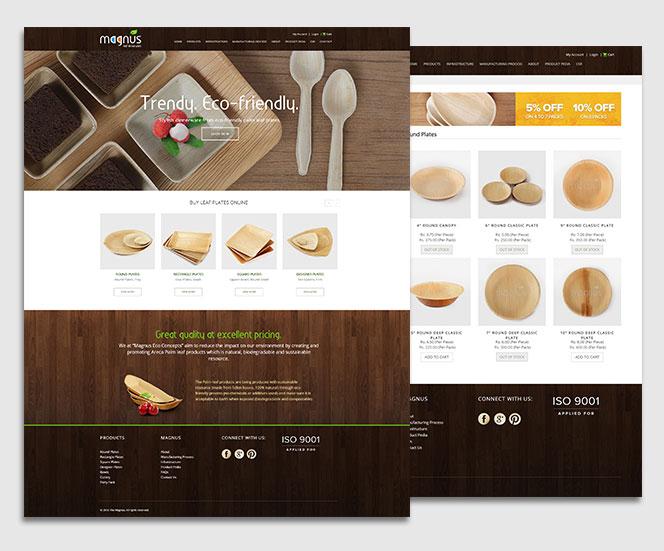 ecommerce website E commerce Website for Magnus