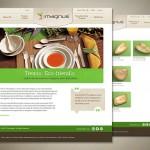 ecoleafplates 150x150 E commerce Website for Magnus
