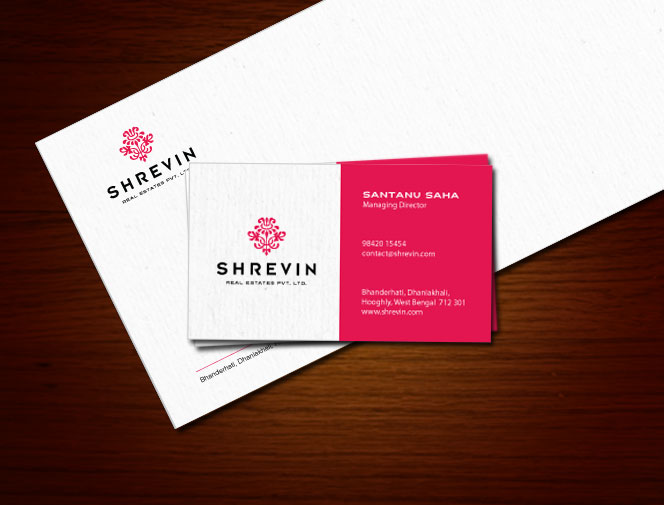 shrevin Real Estate Logo Design