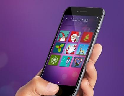 Invok Greeting Card App