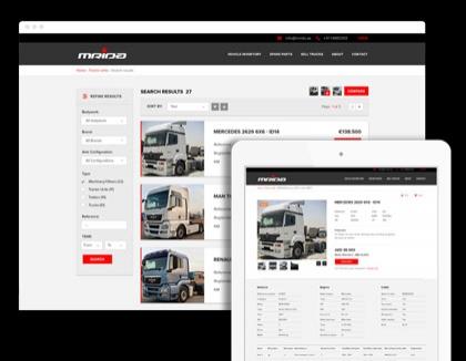 B2B Automotive Portal