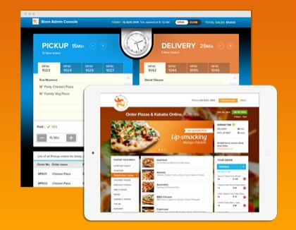 Pizza Customization and Restaurant App