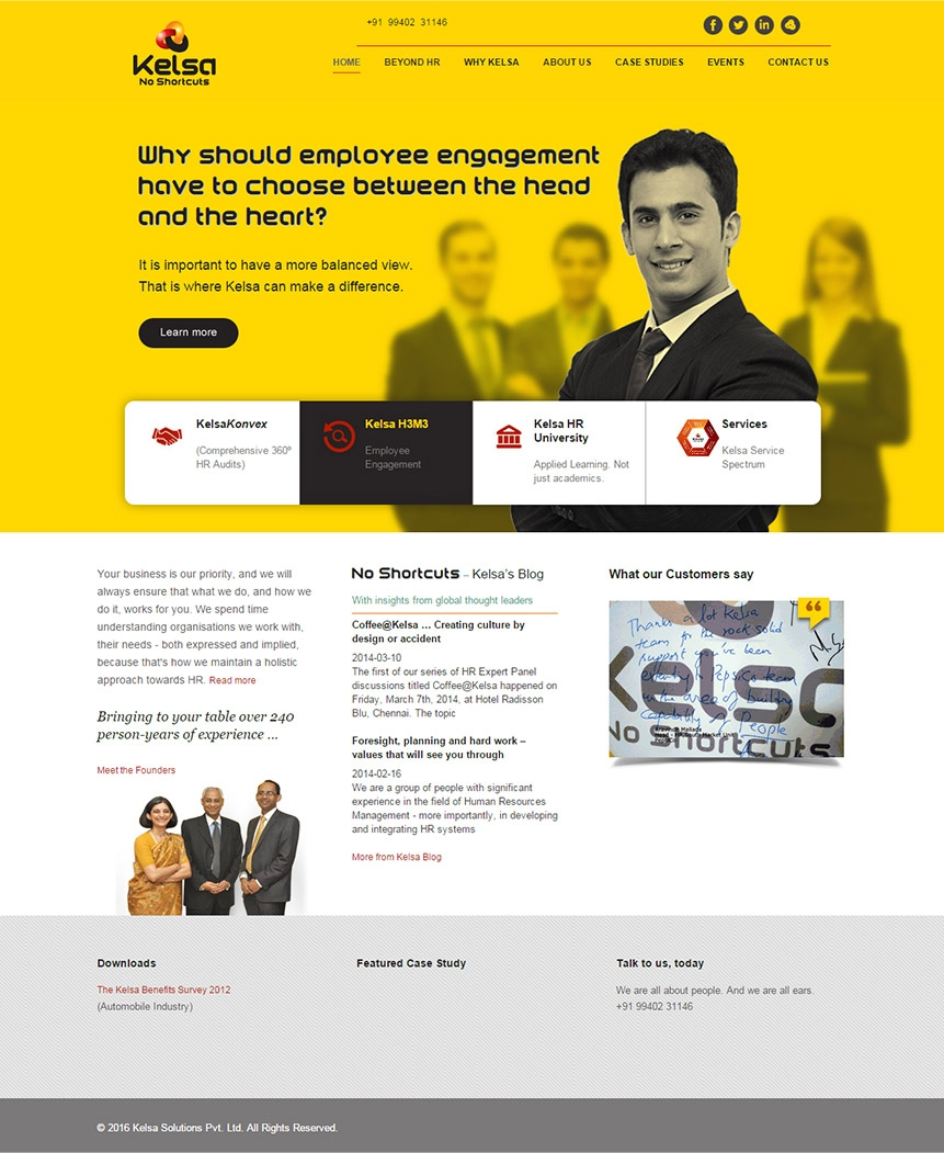 HR company website