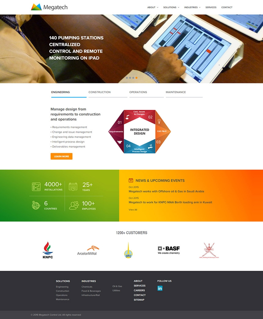 technology consulting website design