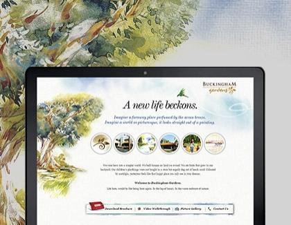 Buckingham gardens website